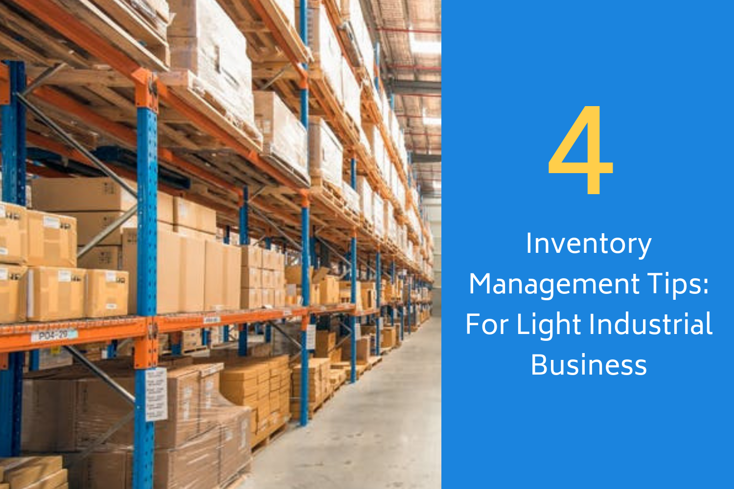 4 Inventory Management Tips