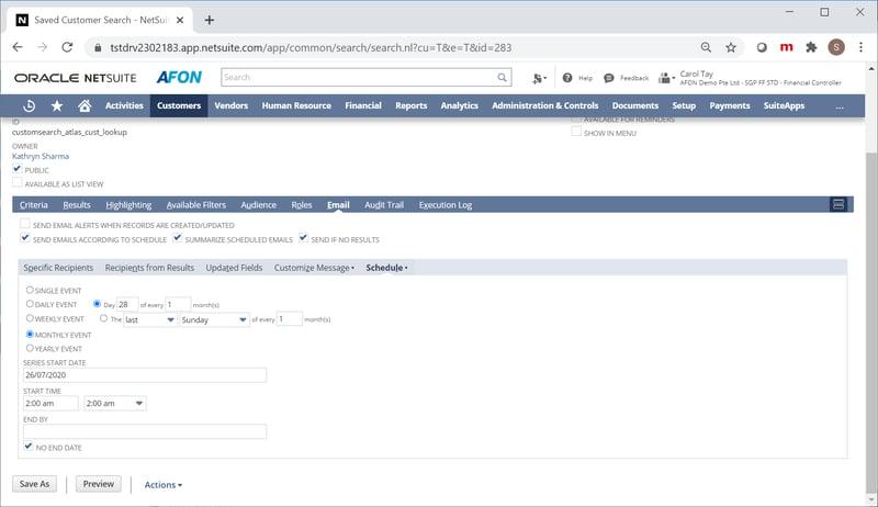 Email_scheduler AFON