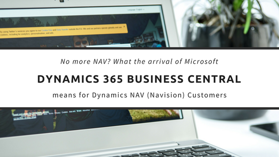 Navision 2019 is now Dynamics 365 Business Central