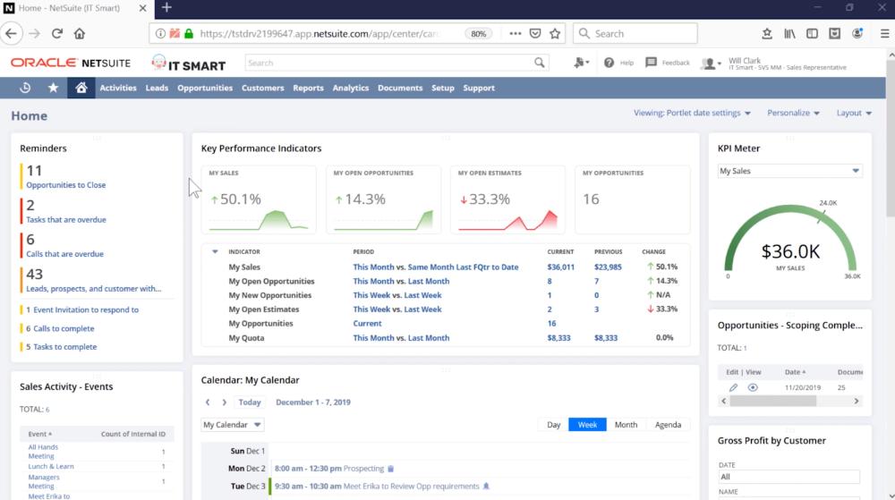 NetSuite CRM-1000