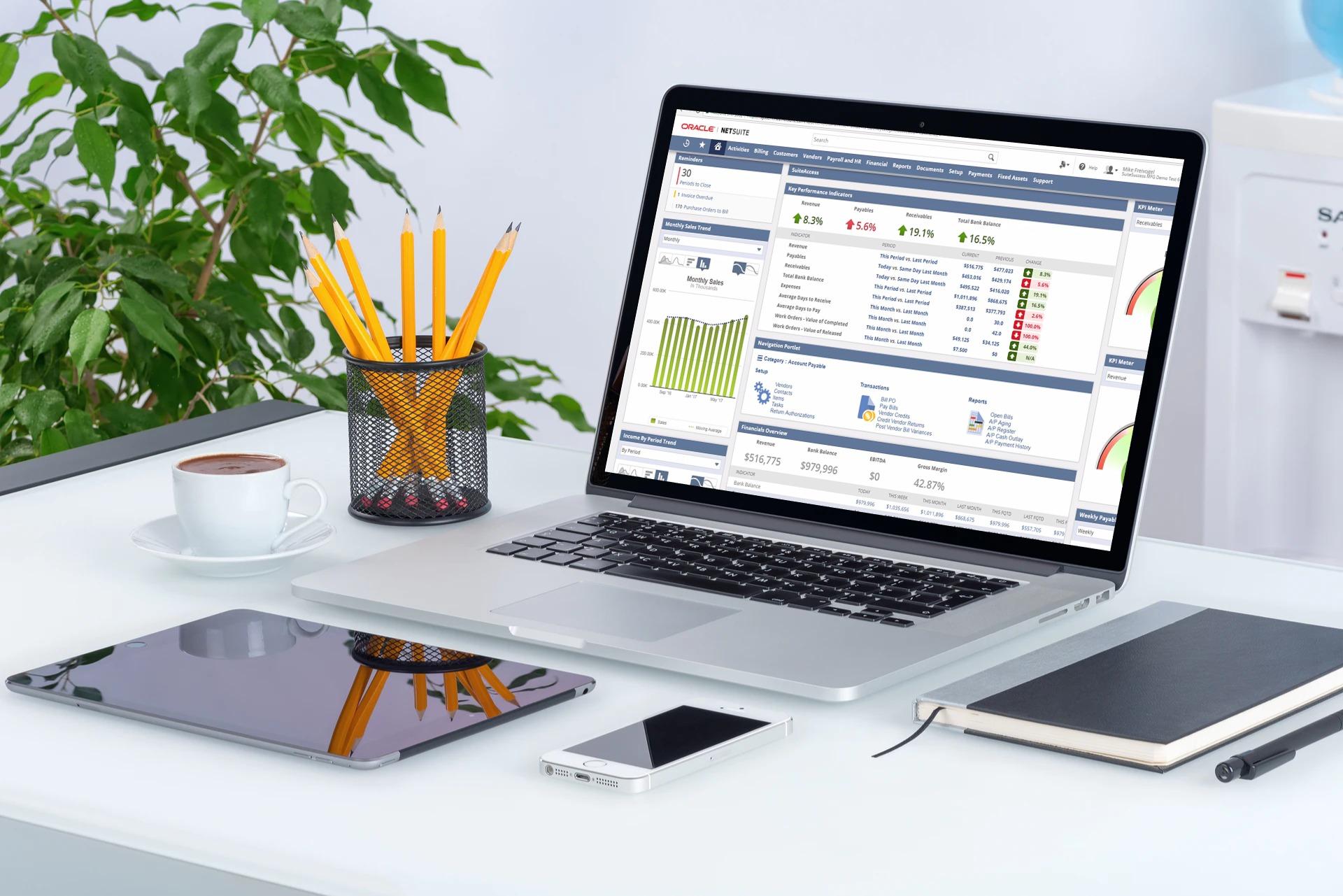 NetSuite interface