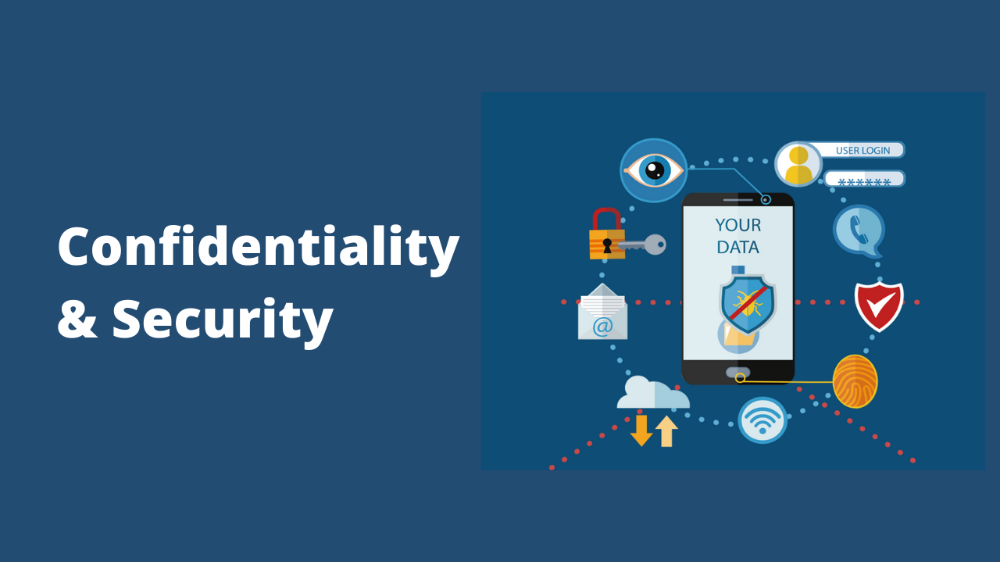 confidentiality and security 1000