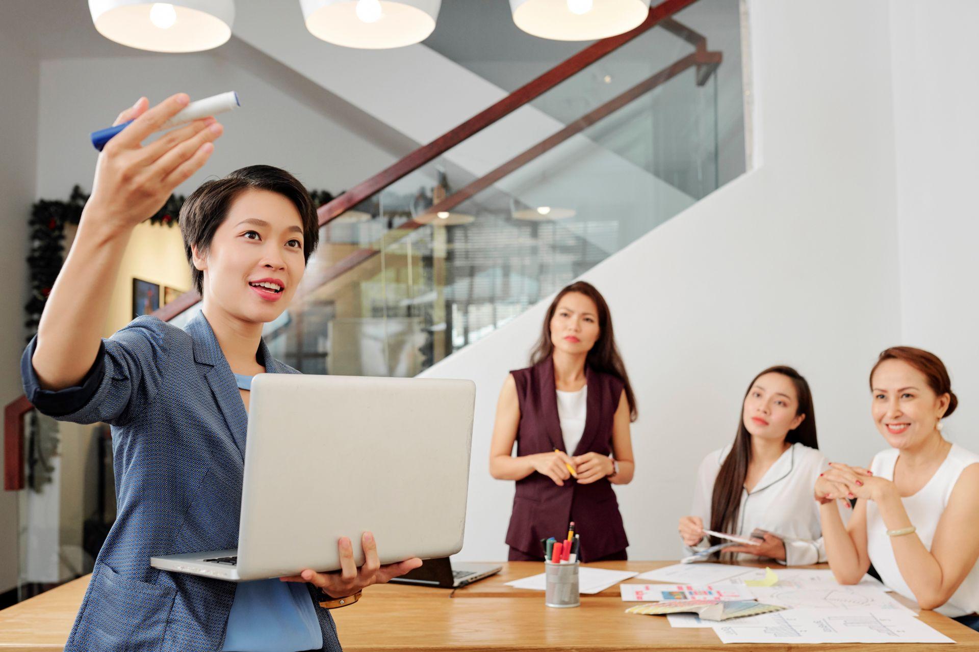 Delegating tasks to employees