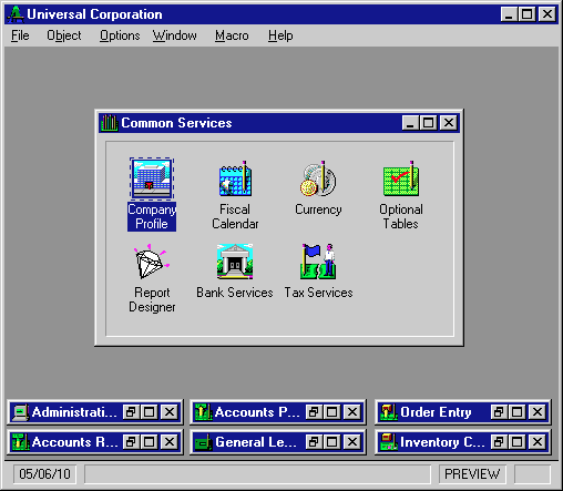 Accpac Advantage Windows 3.1