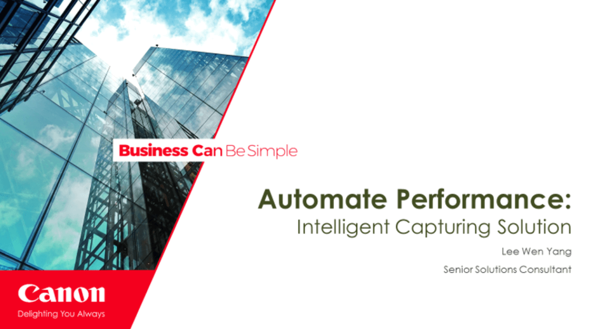 Automate Performance - Intelligence Capturing Solution (1)