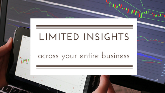 Limited visibility and insights