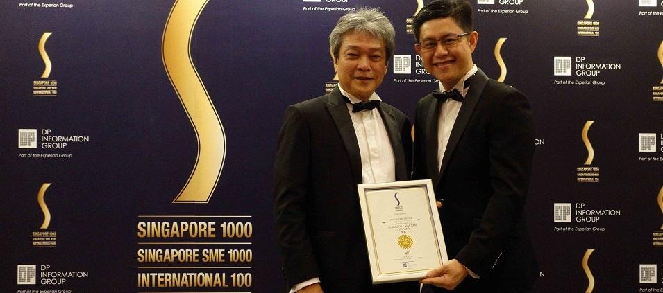 AFON Wins Singapore SME 1000 Award