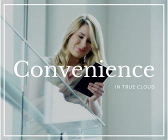 Greater Convenience in true Cloud ERP