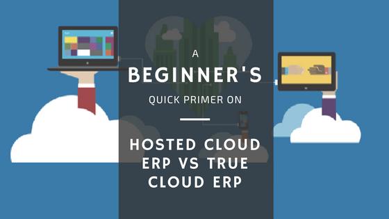 Hosted Cloud ERP vs Cloud ERP