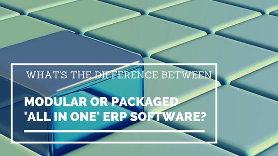 Modular or Packaged ERP Software?