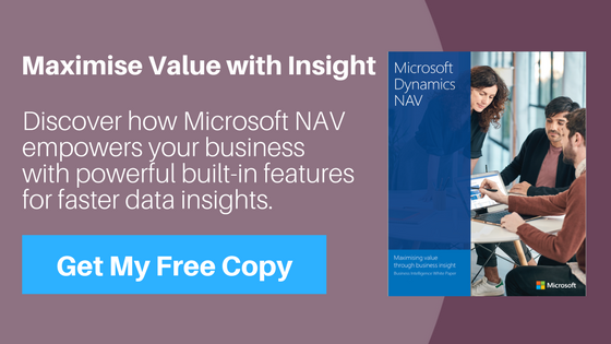 Microsoft Dynamics NAV Reporting Features
