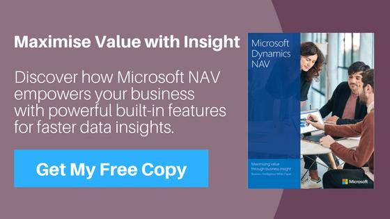 Microsoft Dynamics NAV Reporting Features