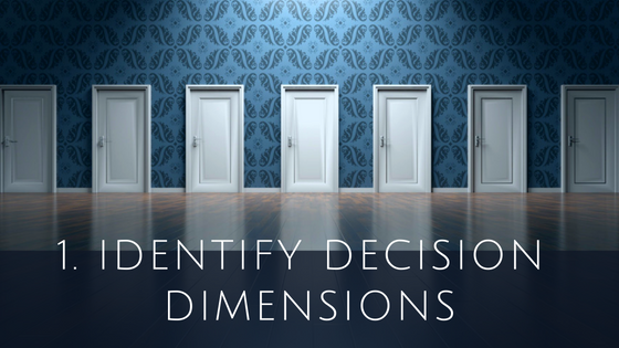 Identify Decisions Dimensions for Cloud ERP System