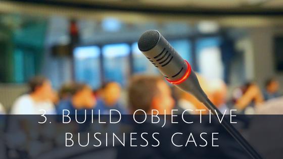 Build business case for Cloud ERP