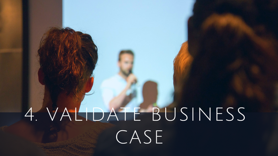 Validate business case for Cloud ERP software