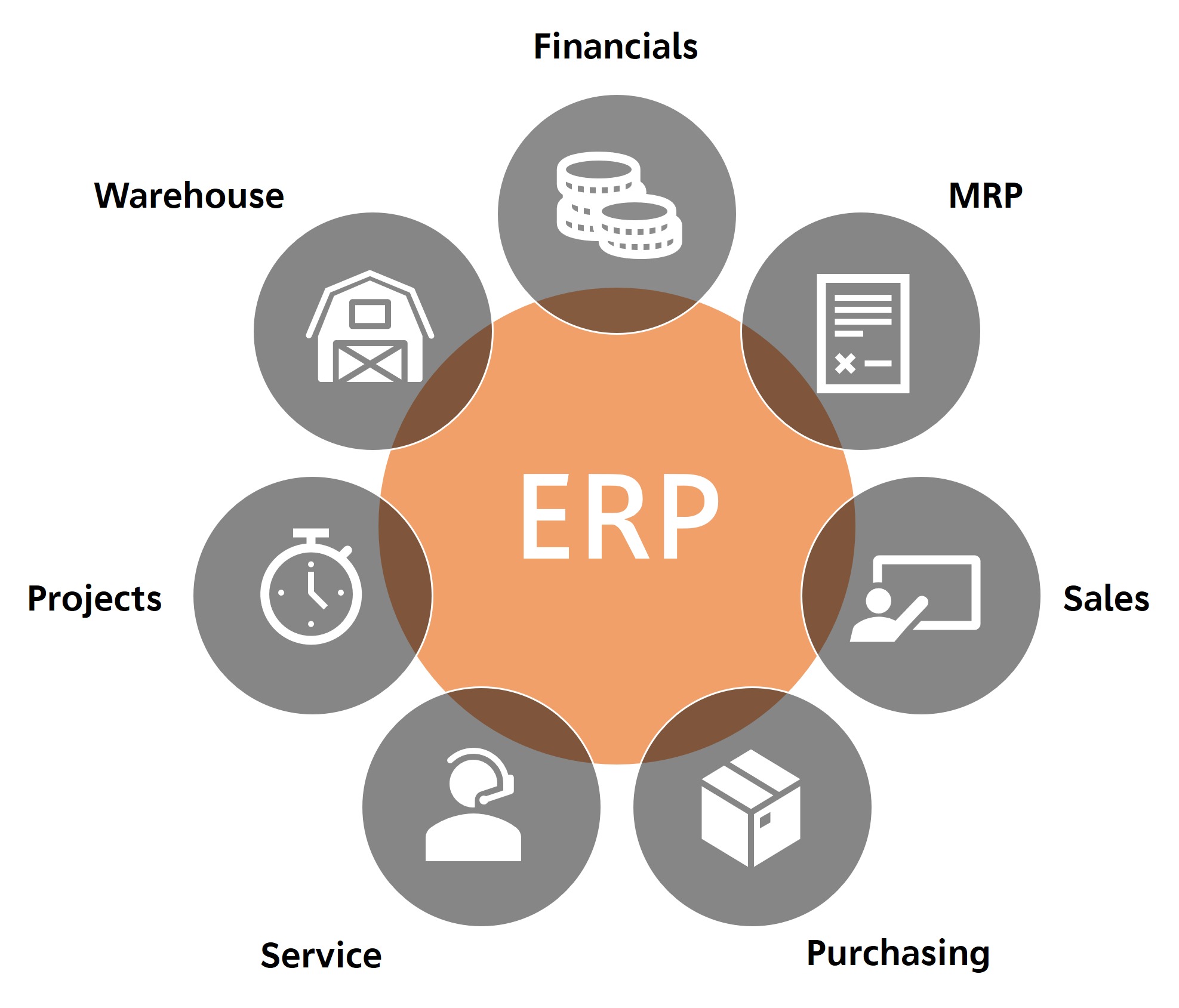Modules in an ERP System