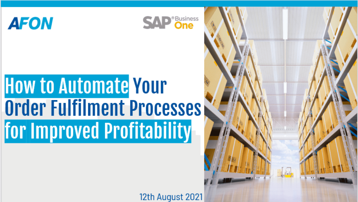 How to Automate Your Order Fulfilment Processes for Improved Profitability