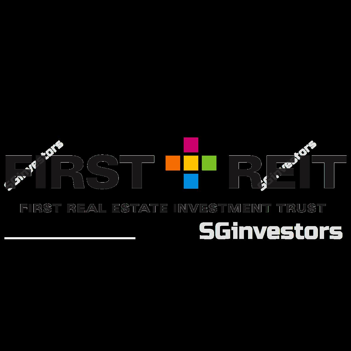 First REIT logo