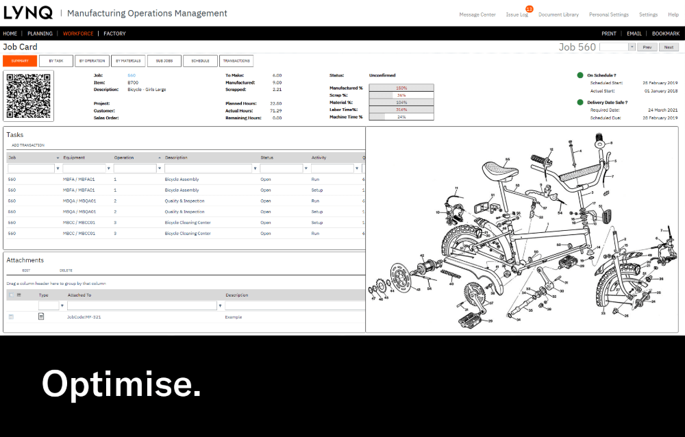 Workflow Optimisation